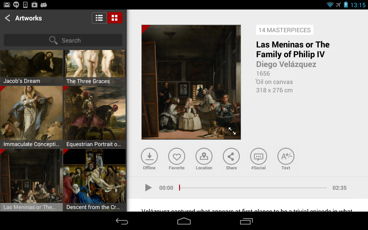 Second Canvas Museo del Prado- screenshot