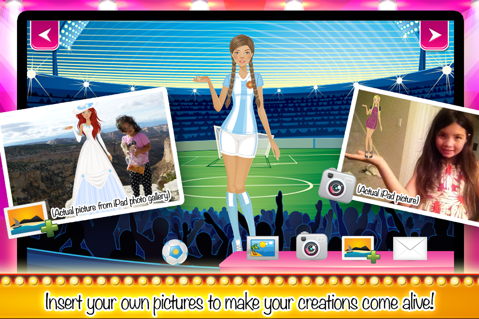 Dressing Up: Fashion Show Game- screenshot