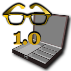 Math Word Decode Fun Item - Gold Glasses Box icon