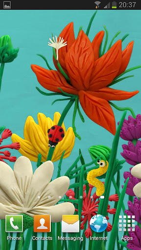 KM Flowers Live wallpaper
