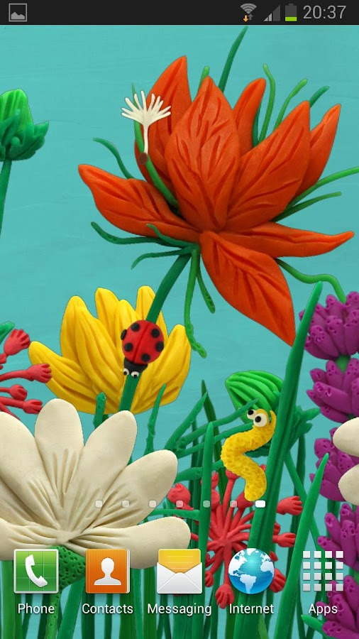 Flowers Live wallpaper HD- screenshot