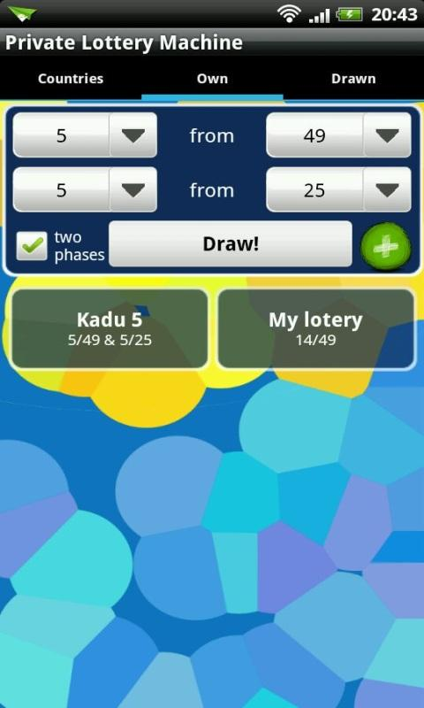 Private Lottery Machine - screenshot