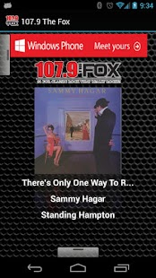 107.9 The Fox - screenshot thumbnail