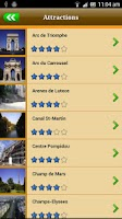 Screenshot of Paris Offline Map Travel Guide