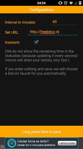 Free Bitcoin Faucet Reminder