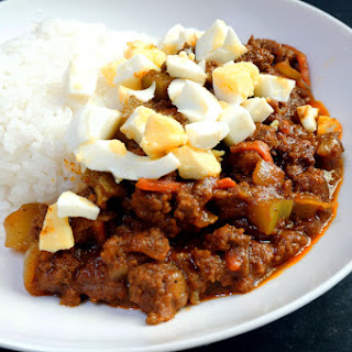Quick Japanese Dry Curry