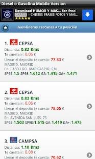 Gasolineras Baratas en España- screenshot thumbnail
