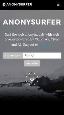 AnonySurfer proxy & VPN - screenshot