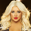Christina Aguilera lyrics logo