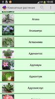 Screenshot of Комнатные растения