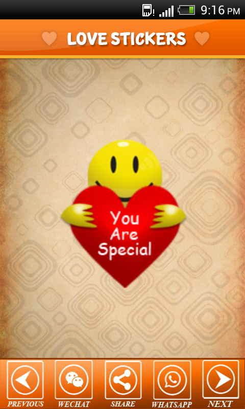 Love Sticker for Valentine Day - screenshot