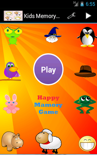 Happy Mamory Game kids game