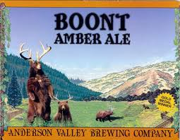 Logo of Anderson Valley Boont Amber