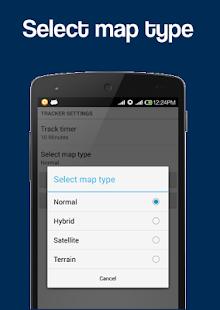 Mobile Location Tracker - screenshot thumbnail