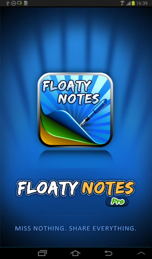 Floaty Notes Pro: Share Notes - screenshot