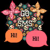 GO SMS - Cute Butterfly 11