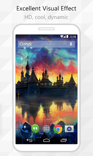 Castles Live Wallpaper