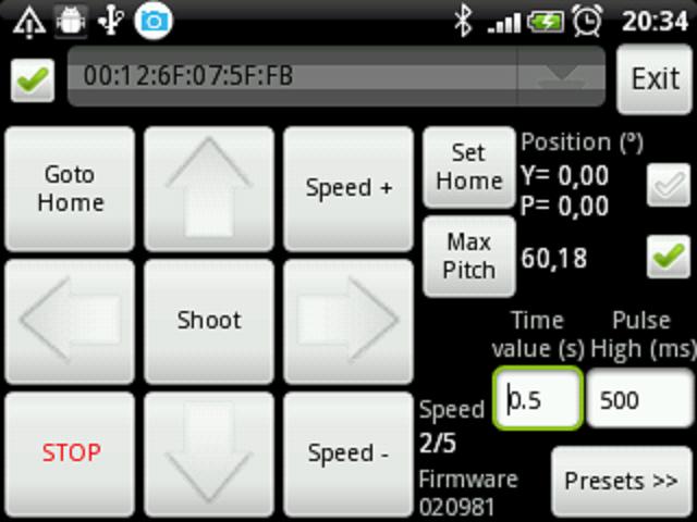 PandroidWiz– Capture d'écran