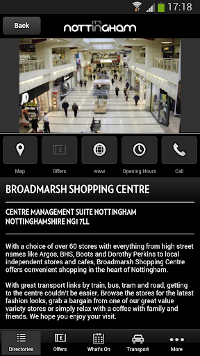 【免費旅遊App】Its In Nottingham-APP點子