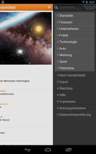 Handelsblatt Online - screenshot thumbnail