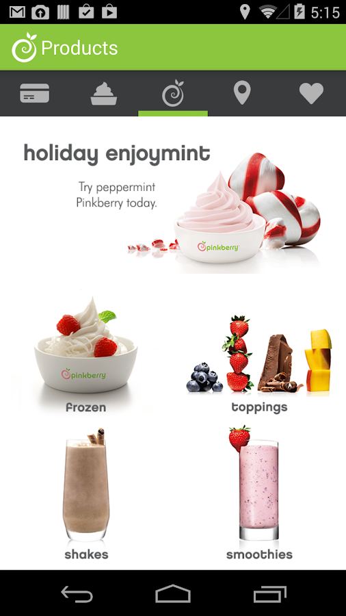 Pinkberry - screenshot