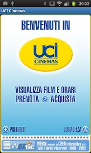 UCI CINEMAS ITALIA - screenshot thumbnail