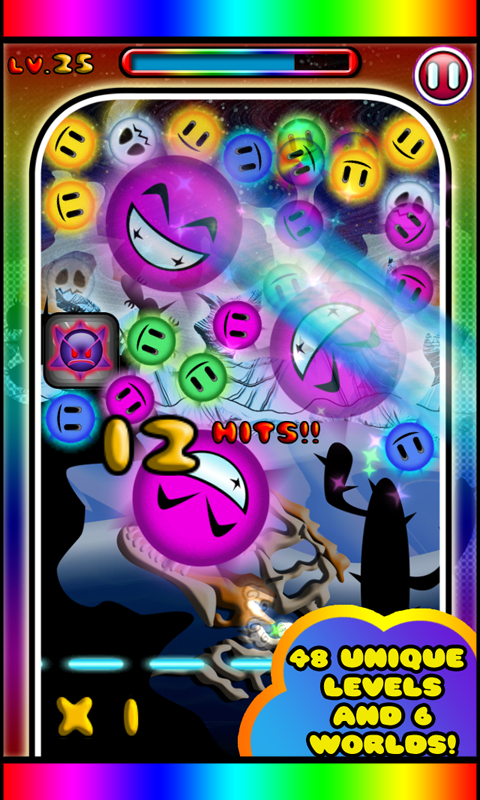 Rainbow Trail - Bubble Shoot- screenshot