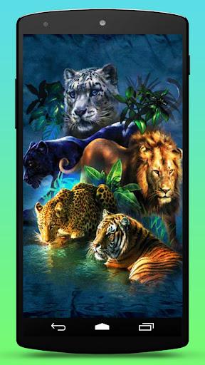 Big Cats Live Wallpaper