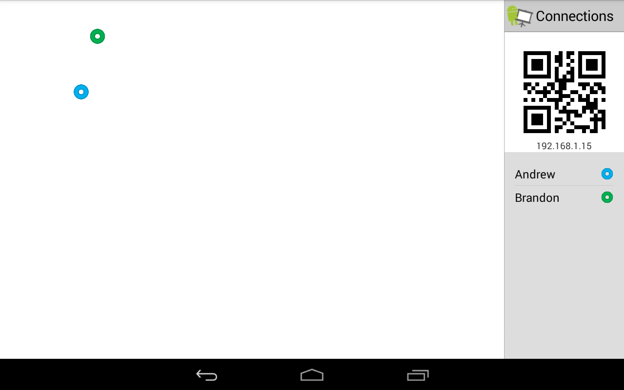 Whiteboard for Android- screenshot