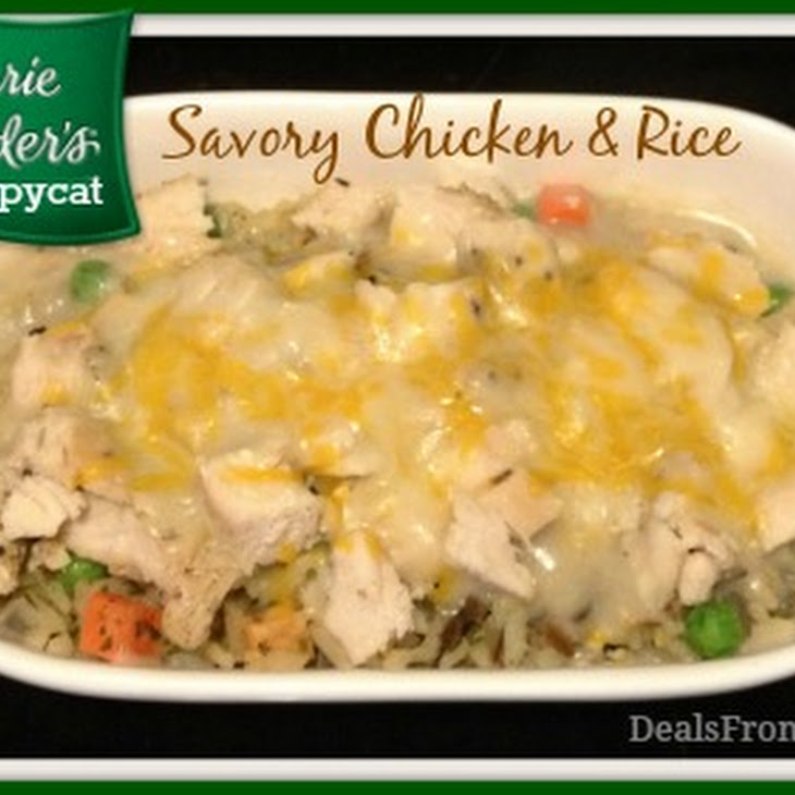 Savory Chicken and Rice Casserole Marie Callender'S Copycat Recipe