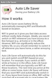 AutoLifeSaver WiFi + Bluetooth - screenshot thumbnail