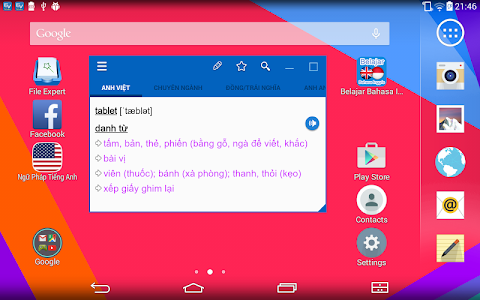 English Dictionary TFLAT v5.2.6