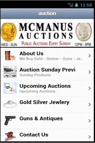 Las Vegas MCManus Auction