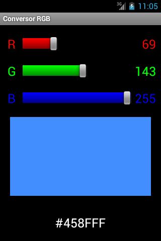 Conversor RGB