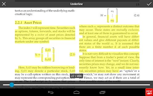 PDF閱讀器 PDF註解
