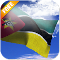 3D Mozambique Flag icon