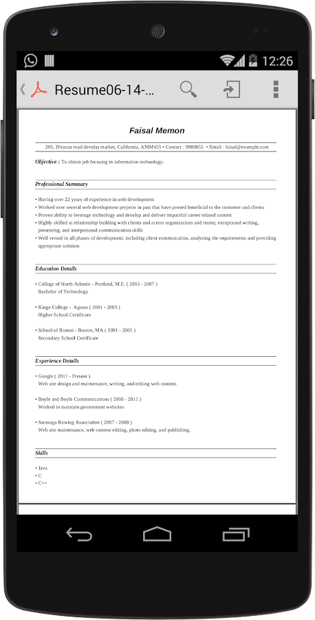 resume builder pro cv android apps on play