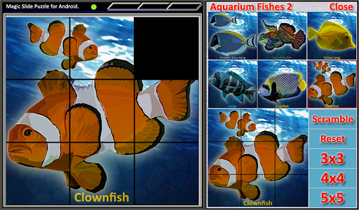 免費解謎App|Magic Slide Puzzle A Fishes 2|阿達玩APP