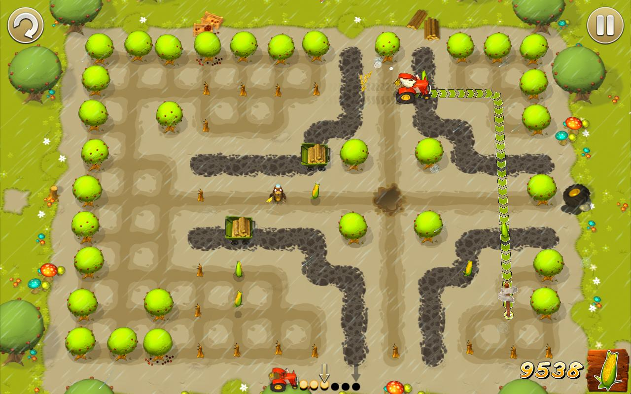 Tractor Trails - screenshot