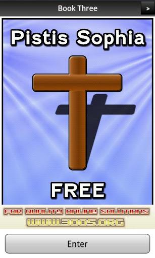 Pistis Sophia Book 3 FREE
