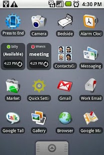 GTalk Status Widget - screenshot thumbnail
