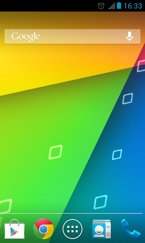 Jelly Bean 4.3 Nexus Wallpaper- screenshot