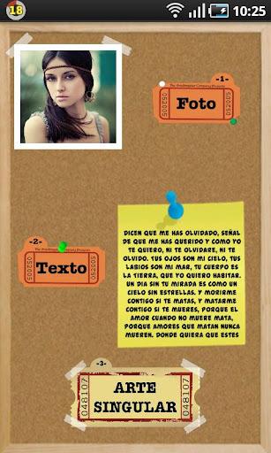 テキストに写真:ArteSingularPRO