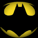 Batman 3D Logo Wallpaper icon