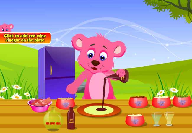 Spicy Salmon Cooking Games- screenshot