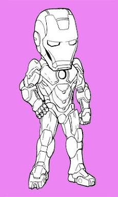 Paint Iron Man HDのおすすめ画像4