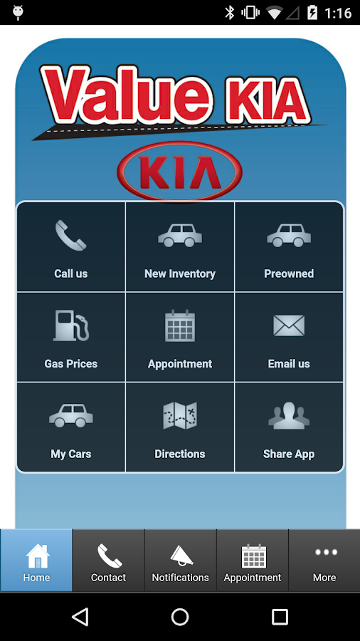 Value Kia- screenshot