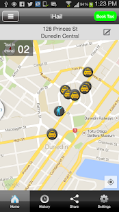 Dunedin Taxis- screenshot thumbnail