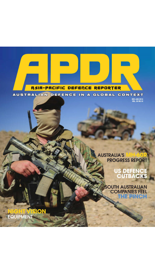 Asia Pacific Defence Reporter- screenshot