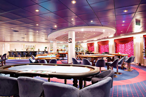 MSC-Opera-Monte-Carlo-Casino - Spend some time with friends rolling the dice in the Monte Carlo Casino during your cruise on MSC Opera.